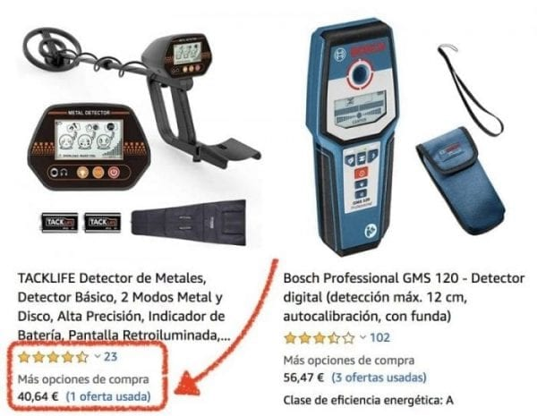 tacklife detector de metales
